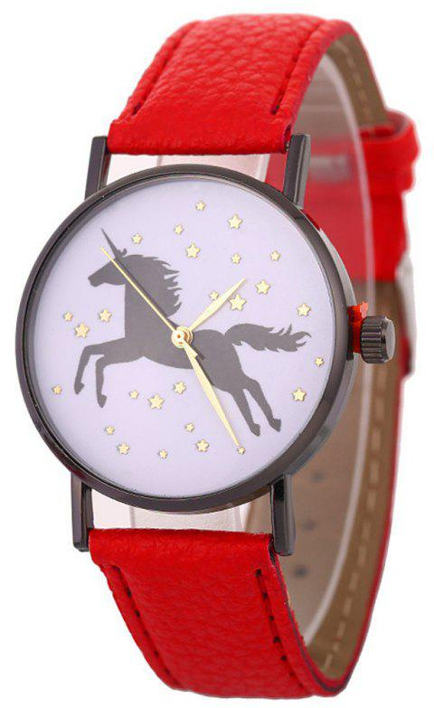 Unicorn Explosive Bracelet Watch - RED