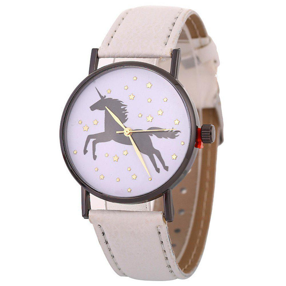 Unicorn Explosive Bracelet Watch - MILK WHITE