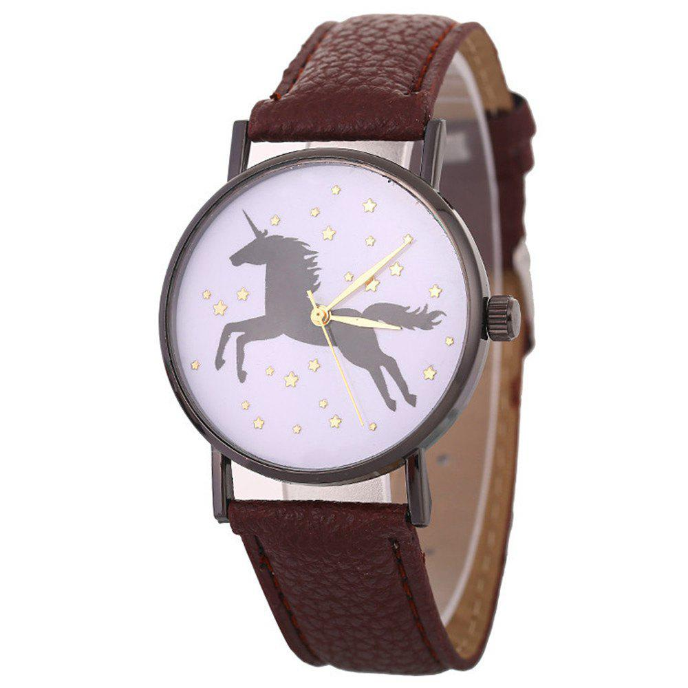 Unicorn Explosive Bracelet Watch - BROWN