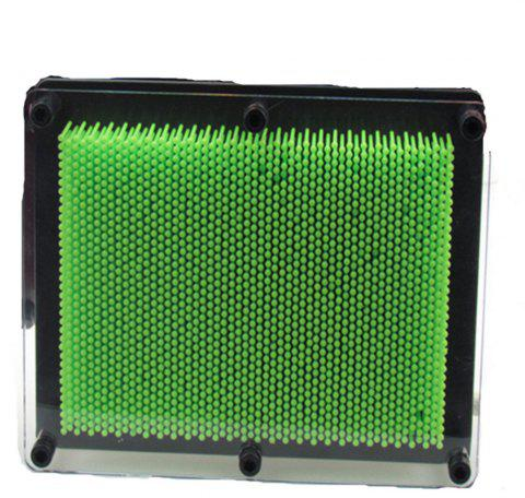 New 3D Multivariant Style Needle Drawing - EMERALD GREEN