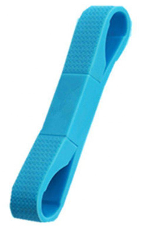 Portable Key Mobile Phone Cable for iPhone - DEEP SKY BLUE