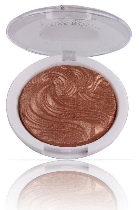 MISS ROSE Facial Makeup Baked Highlight Powder - 006