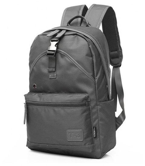 Men'S Backpack Young Waterproof Bags Fashion  Campus School  Male Totes Travel - GRAY