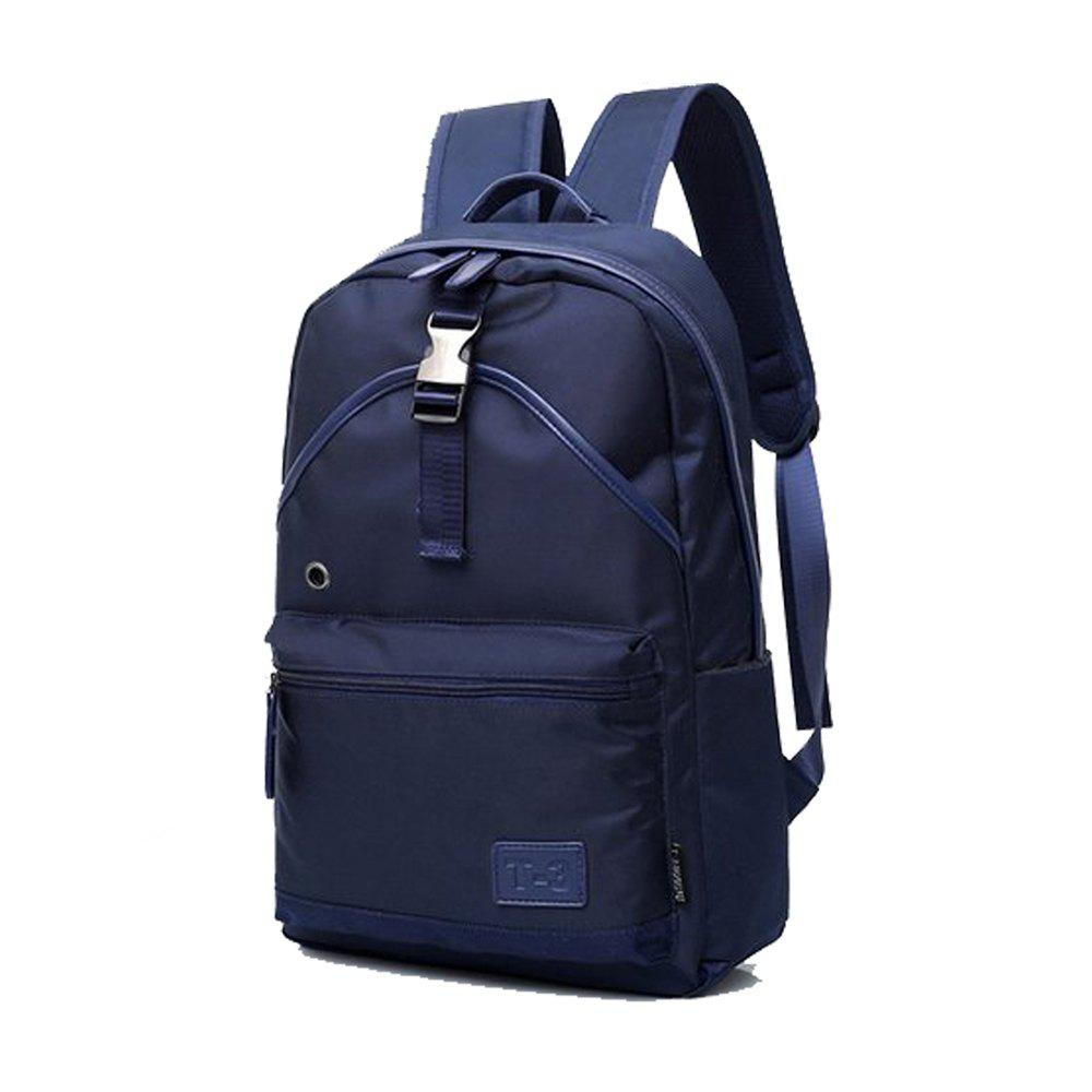 Men'S Backpack Young Waterproof Bags Fashion  Campus School  Male Totes Travel - BLUE EYES