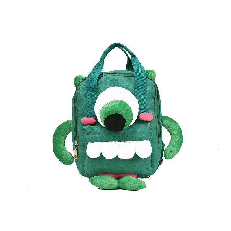 Sac à dos femme Cartoon enfants en Corée du Sud Tide Bag - GREEN