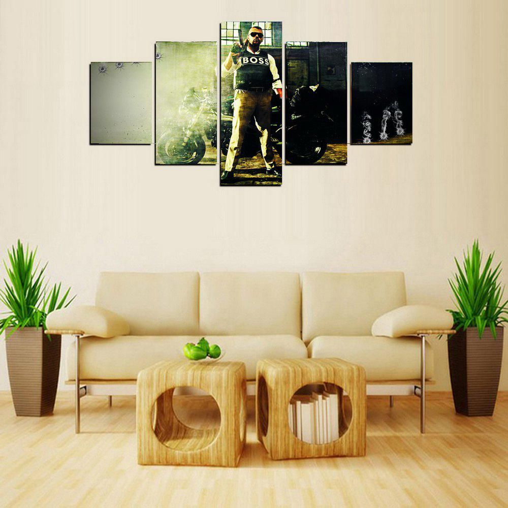 2018 MailingArt FIV605 5 Panels Landscape Wall Art Painting Home ...