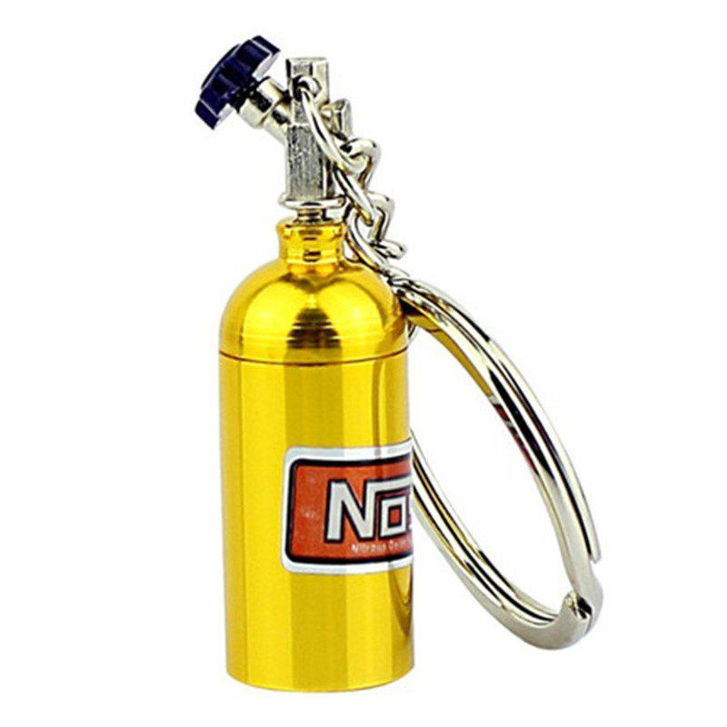 Porte-Clés Turbo Mini Nitrous Oxide Bottle - Jaune