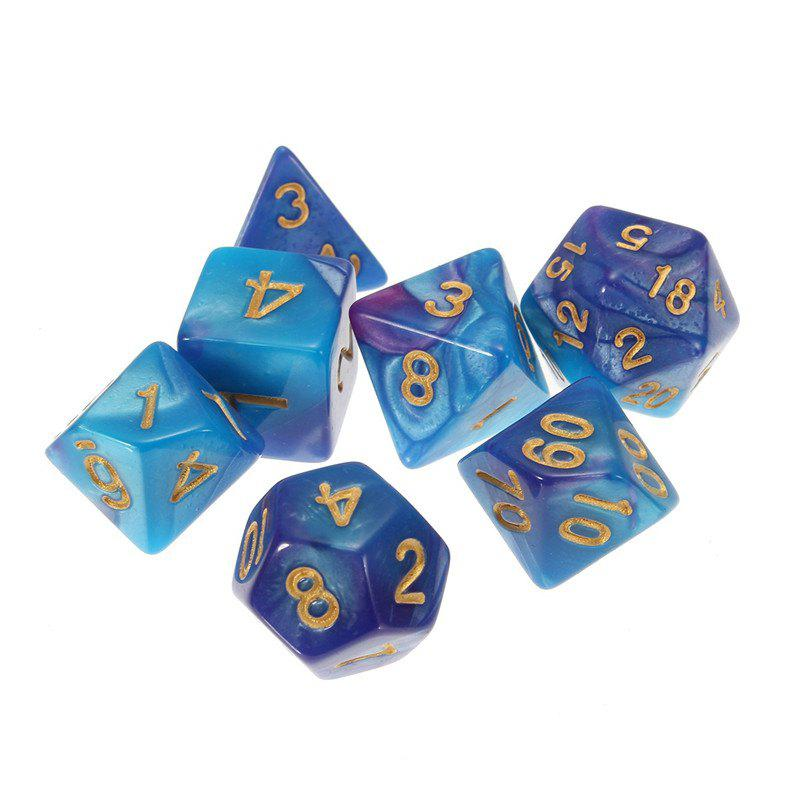 Different Polyhedral 7PCS - multicolor B