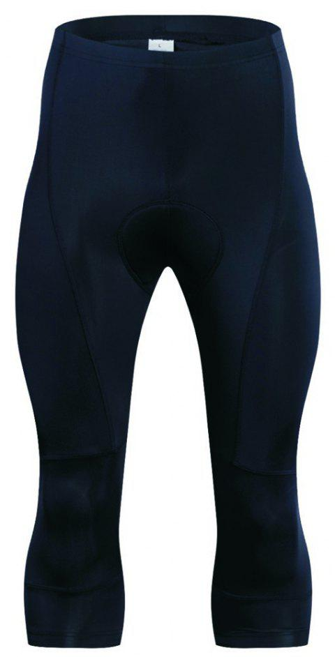 Realtoo Men's Cycling Shorts Padded for Bicycle - BLACK 3XL