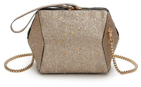 08dca9220511 Fashion Bag Female New Tide Sequins Inclined Handbag Character Single  Shoulder - BLONDE 22 X 8