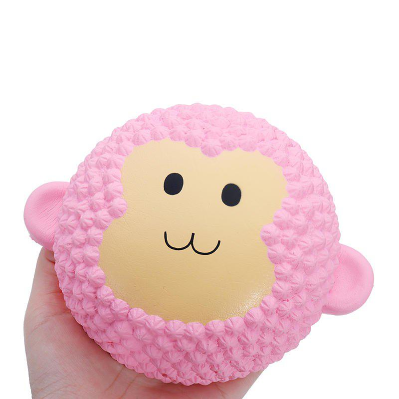 Jumbo Squishy Monkey Soft Slow Rising Collection Gift Decor Toy - PINK