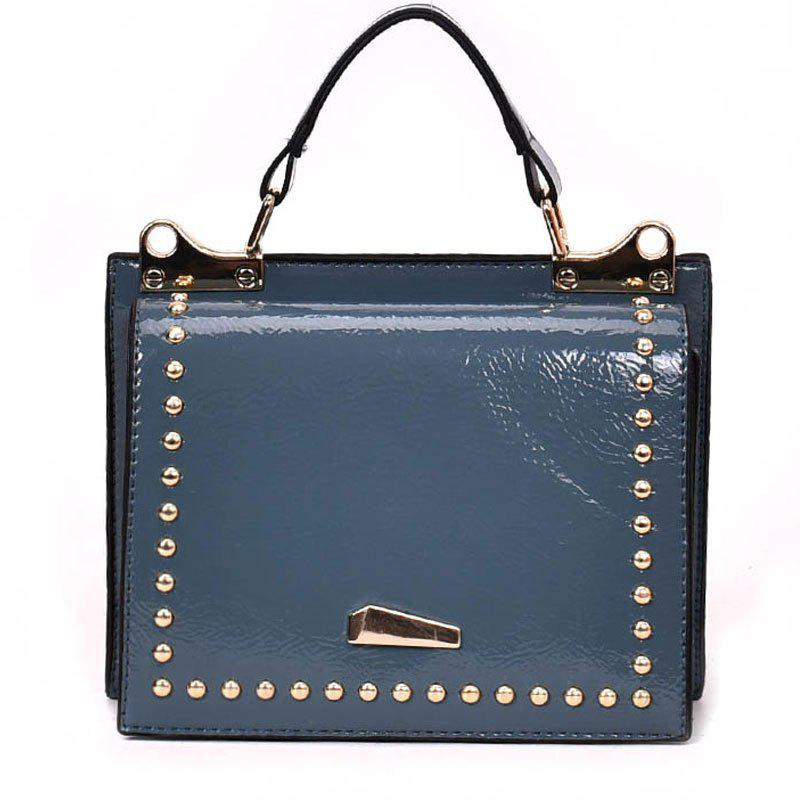 Single Shoulder Bright Side Bag - STEEL BLUE
