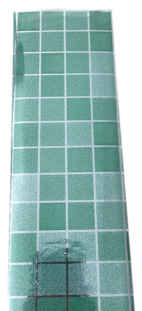 Self-Adhesive  anti-oil Aluminum Kitchen Stickers - LIGHT SEA GREEN 24 X 36 INCH