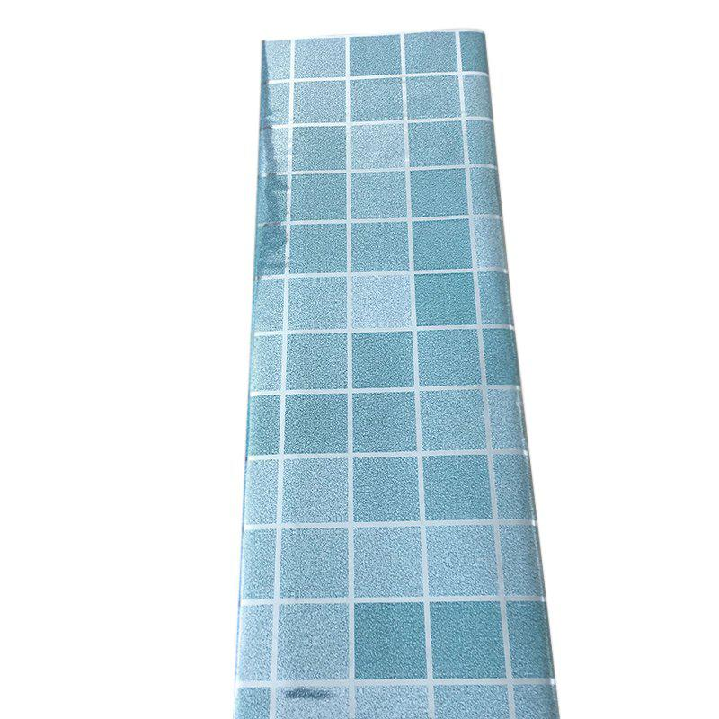 Self-Adhesive  anti-oil Aluminum Kitchen Stickers - BABY BLUE 24 X 36 INCH