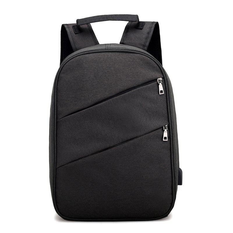 Backpack Computer Multi-Function Security Student Bag - BLACK