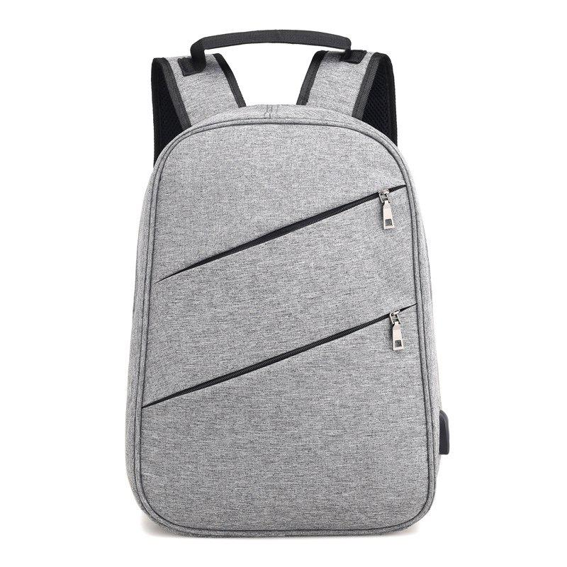 Backpack Computer Multi-Function Security Student Bag - GRAY