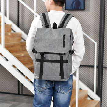 USB Computer Folding Smart Bluetooth Positioning Travel Backpack - GRAY