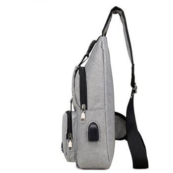 Simple Functional Utility Bag - GRAY