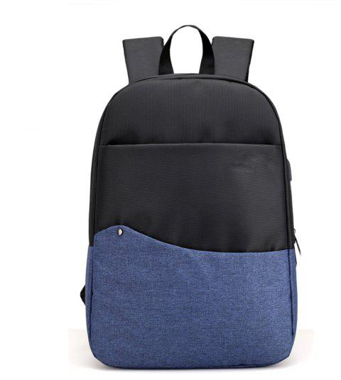 Lightweight and Wild Charging Backpack - BLUE