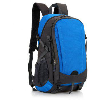 Outdoor Climbing Bag Large Capacity Waterproof Backpack - BLUE