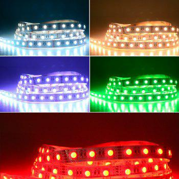 Not Waterproof 5M LED Strip RGBW RGBWW SMD 5050 300LEDS DC 12V Flexible Light 4 Color in 1 - multicolor