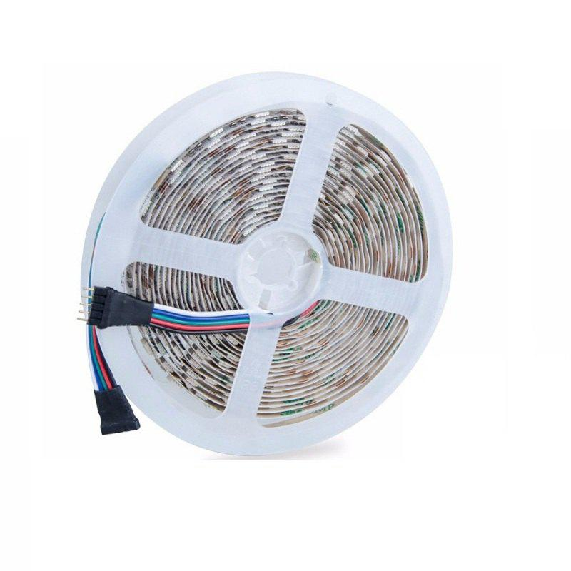 Not Waterproof 5M LED Strip RGBW RGBWW SMD 5050 300LEDS DC 12V Flexible Light 4 Color in 1 - multicolor Z