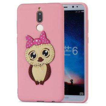 Case for Huawei Mate 10 Lite Owl Soft Shell - PINK