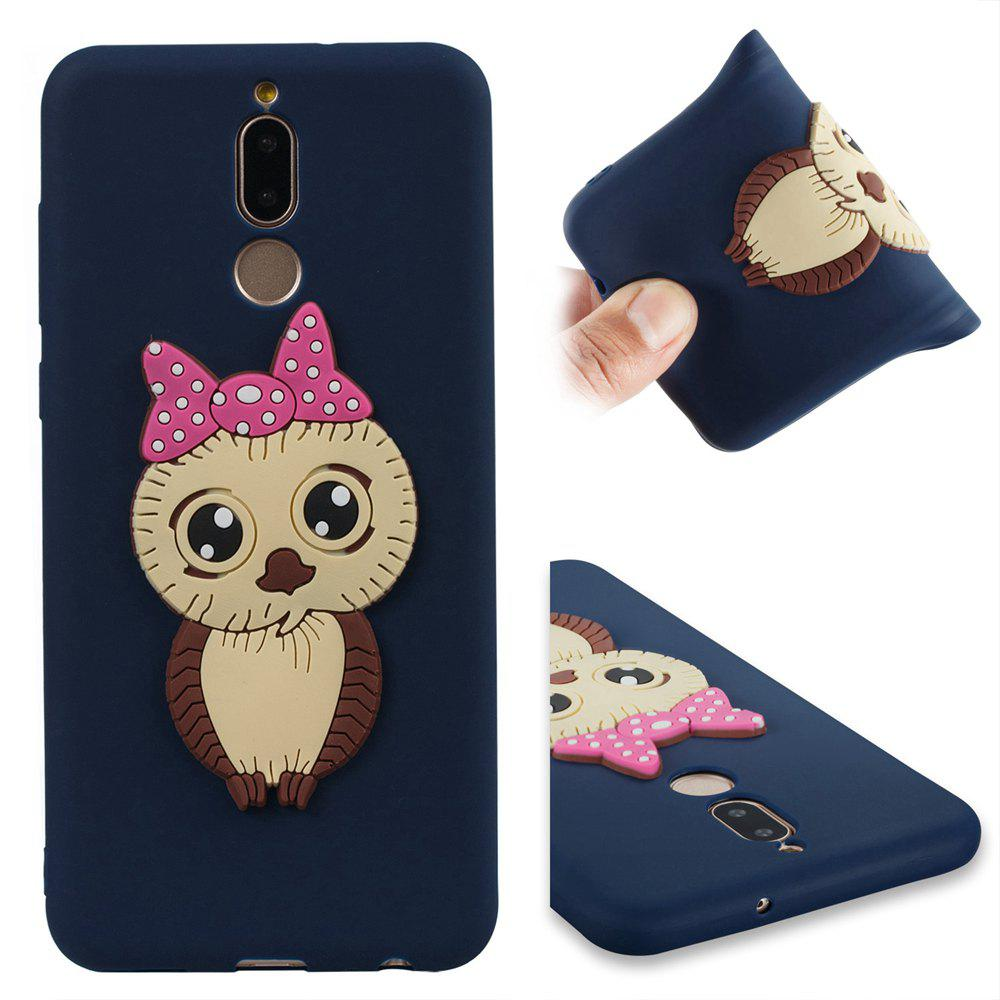 Case for Huawei Mate 10 Lite Owl Soft Shell - MIDNIGHT BLUE