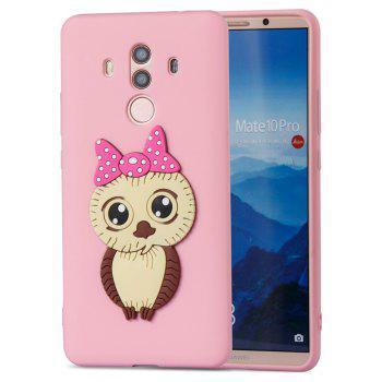 Case for Huawei Mate 10 Pro Owl Soft Shell - PINK