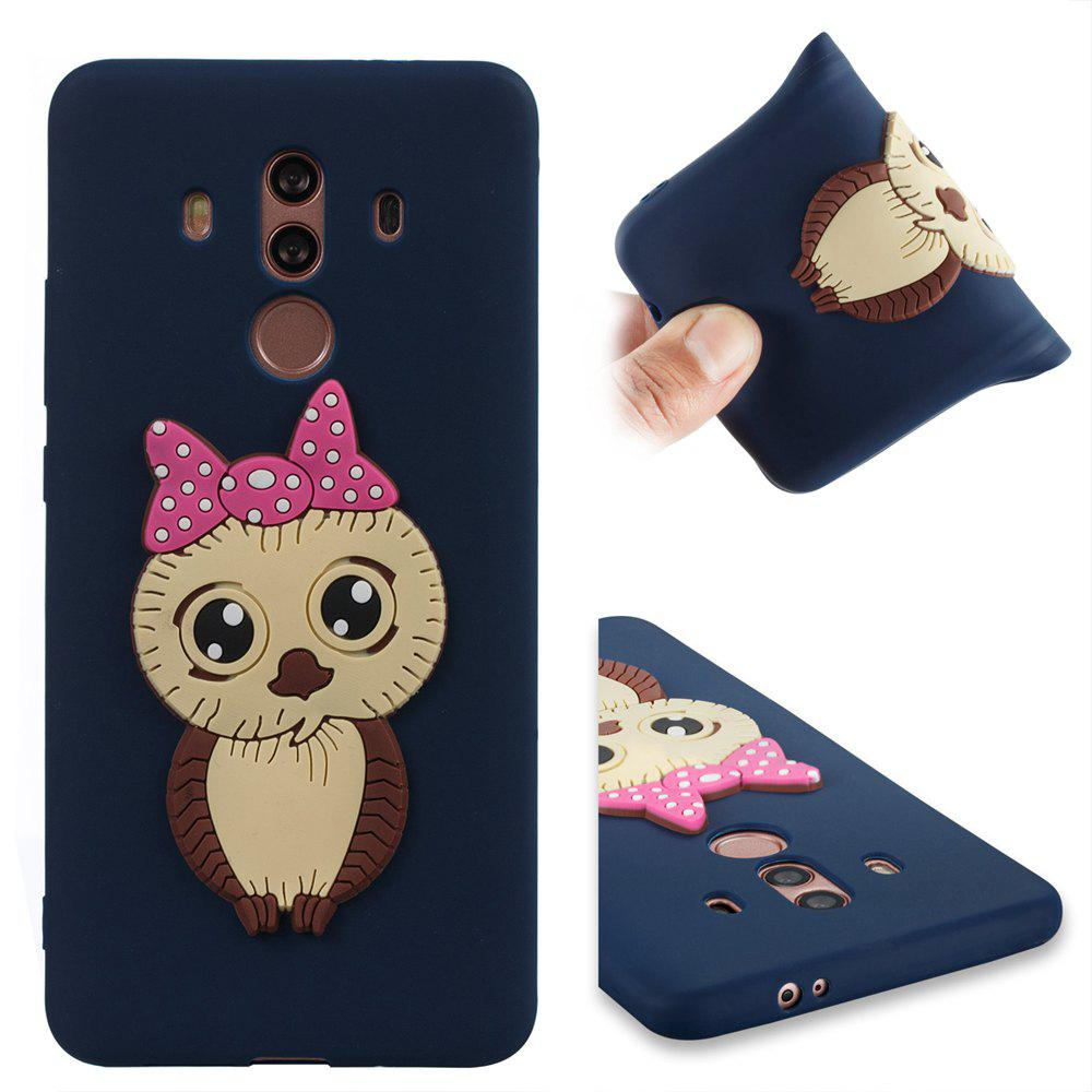 Case for Huawei Mate 10 Pro Owl Soft Shell - MIDNIGHT BLUE