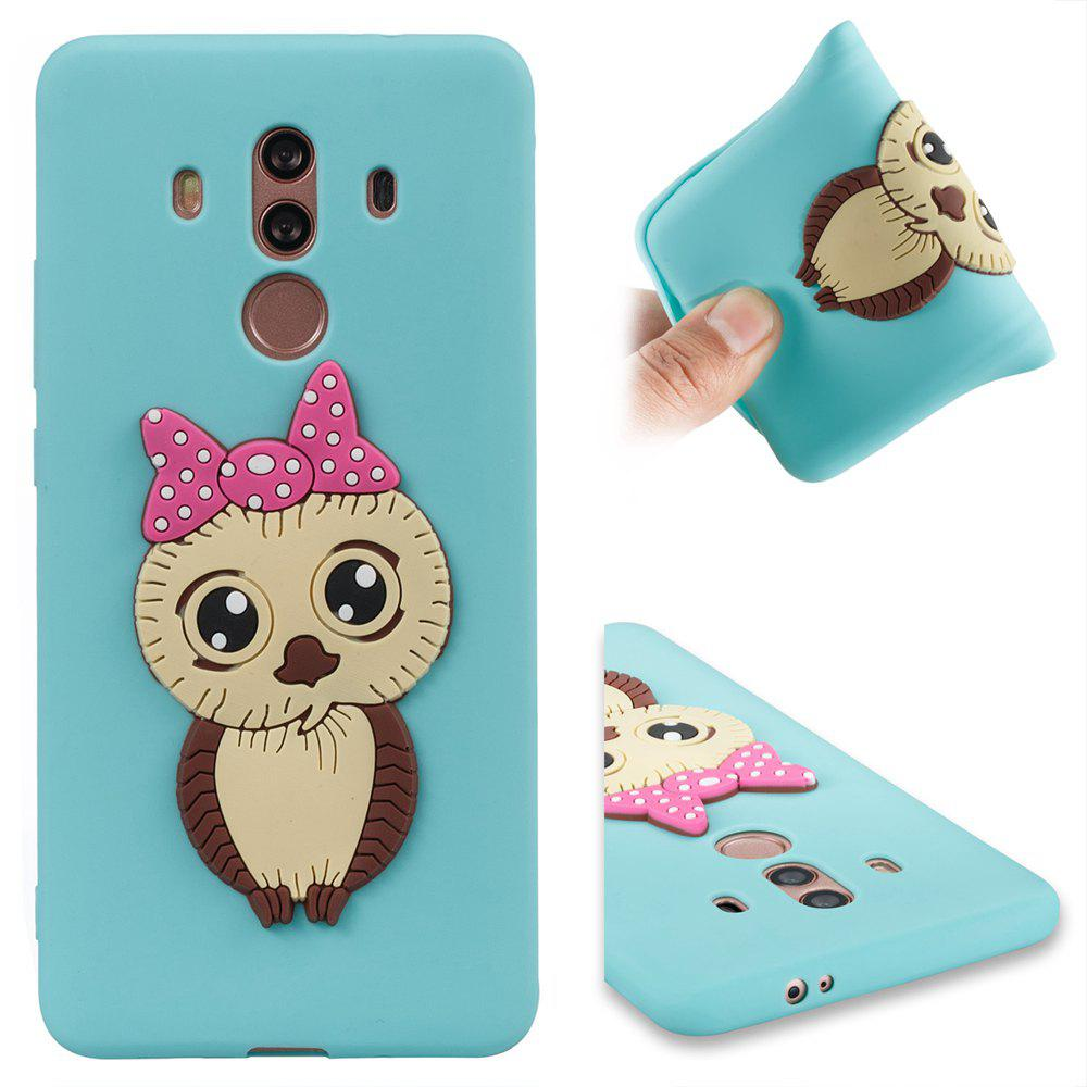 Case for Huawei Mate 10 Pro Owl Soft Shell - CELESTE