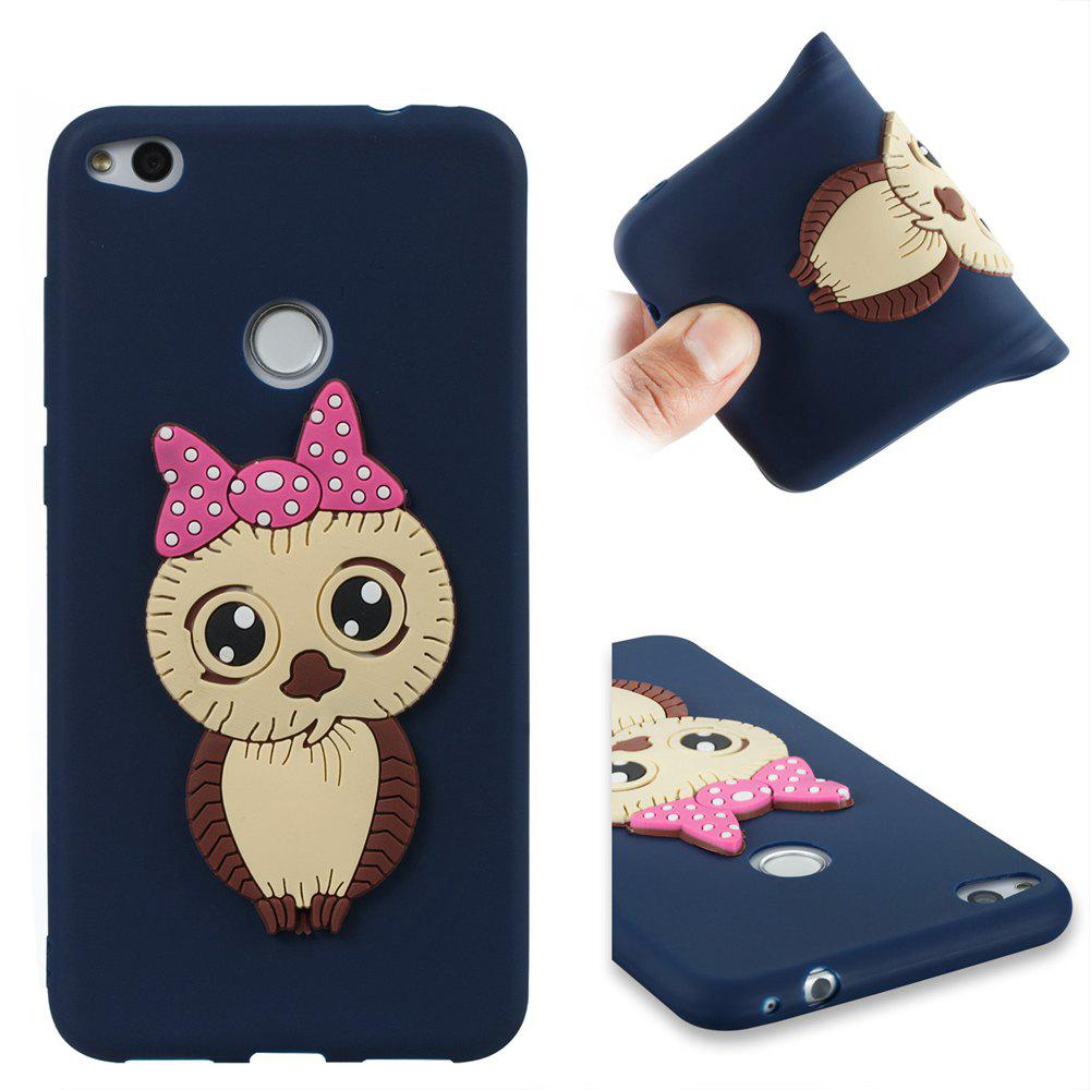 Case for Huawei P8 Lite 2017 Owl Soft Shell - MIDNIGHT BLUE