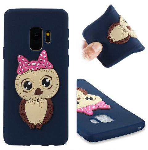 Case for Samsung Galaxy S9 Owl Soft Shell - MIDNIGHT BLUE