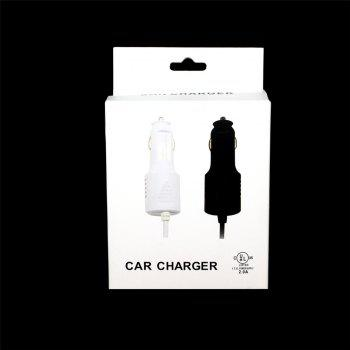 Minismile 15W Smart Quick Charge Car Charger with USB 3.1 Type-C Cable for Samsung Galaxy S9 / S9 Plus / S8 / S8 Plus - BLACK