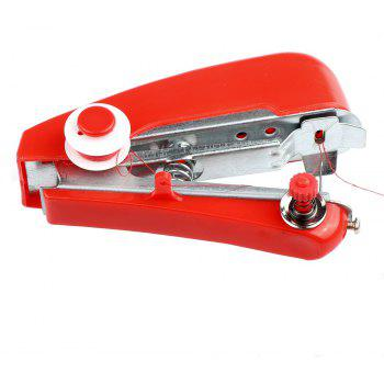 Portable Mini Manual Sewing Machine Is Easy To Operate Travel Essential Tools - SCARLET