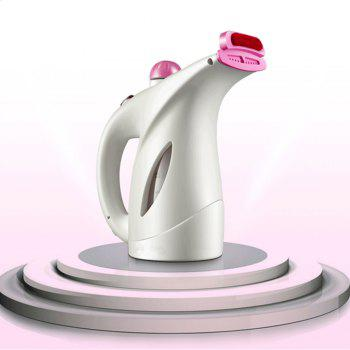 Household Mini Steam Iron with A Handheld Perm Machine - WHITE