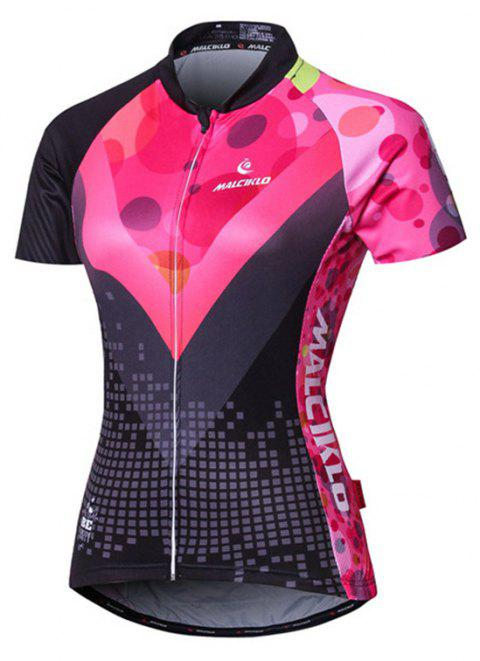 27cec0f99c5 MLCIKLO Cycling Jerseys Breathable Quick Dry T-shirt for Men and Women Outdoor  Sports Running