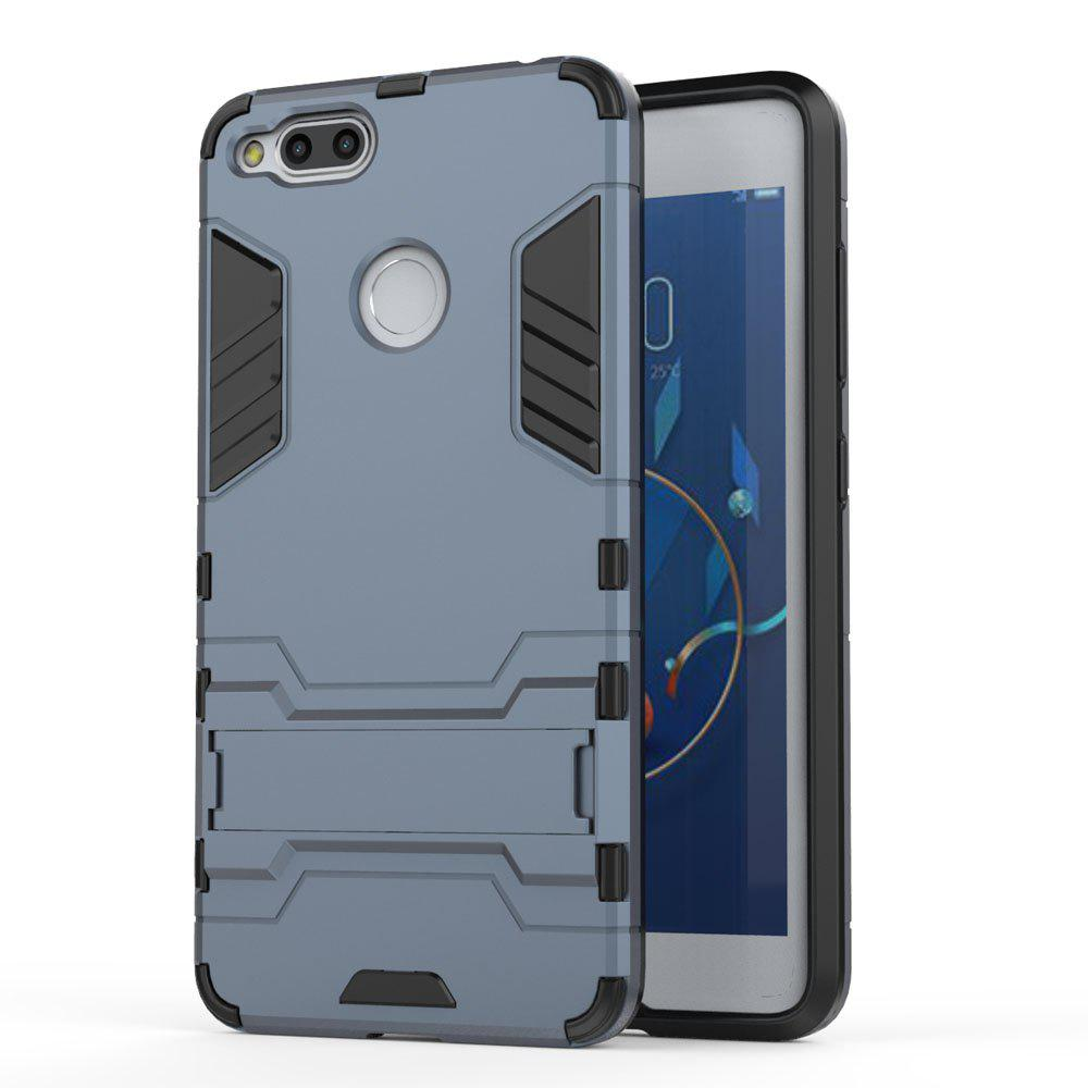 Armor Case for ZTE Nubia Z17 Mini Silicon Back Shockproof Protection Cover - MIST BLUE