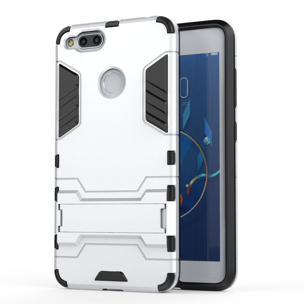 Armor Case for ZTE Nubia Z17 Mini Silicon Back Shockproof Protection Cover - SILVER