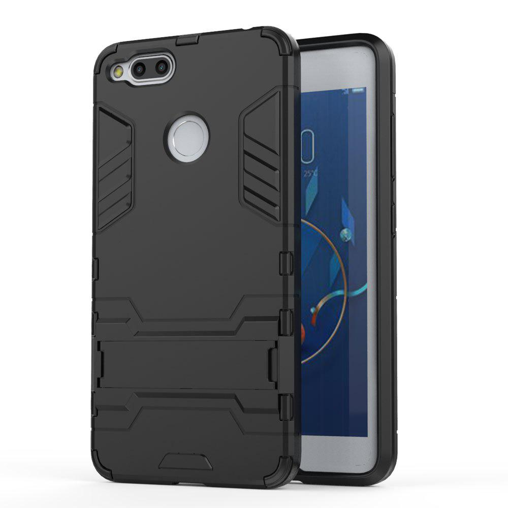 Armor Case for ZTE Nubia Z17 Mini Silicon Back Shockproof Protection Cover - BLACK