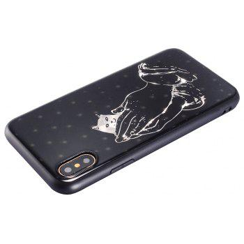 IMD Hard Case for iPhone X - SILVER