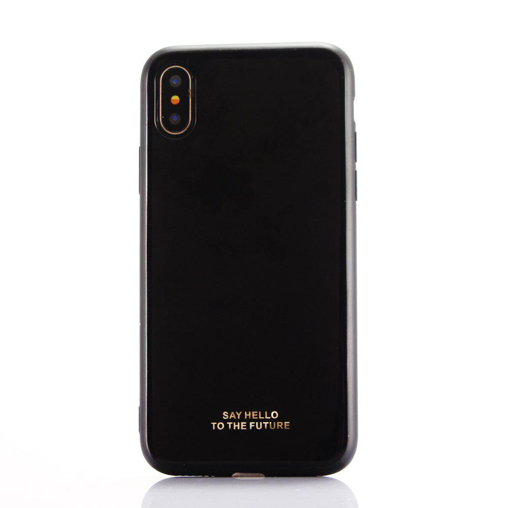 IMD Hard Case for iPhone X - BLACK