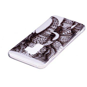 Case for Samsung Galaxy S9 Plus Elephant Pattern Soft TPU Cover - GRAY