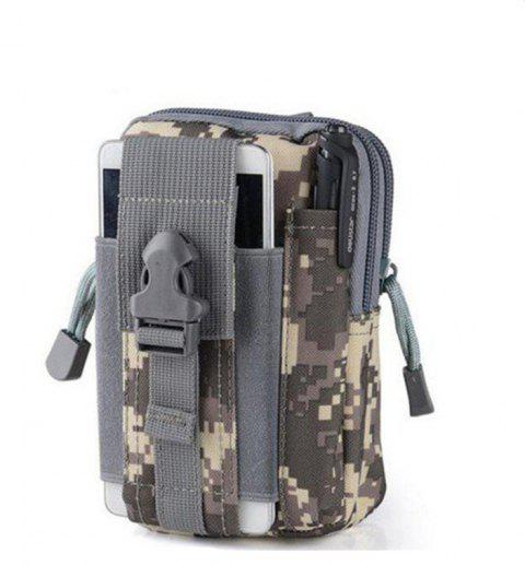 Multipurpose Tactical Utility Gadget Pouch Waist Bag Smart Phone Holster - ACU CAMOUFLAGE