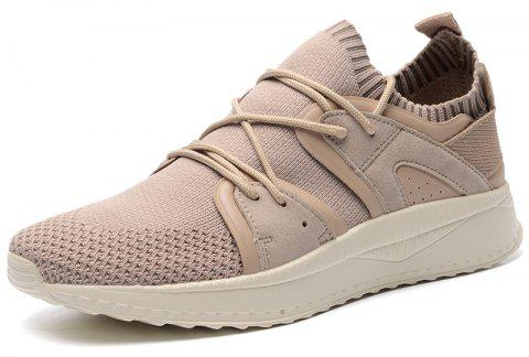New Lightweight Simple Sports Casual Shoes - COOKIE BROWN 44