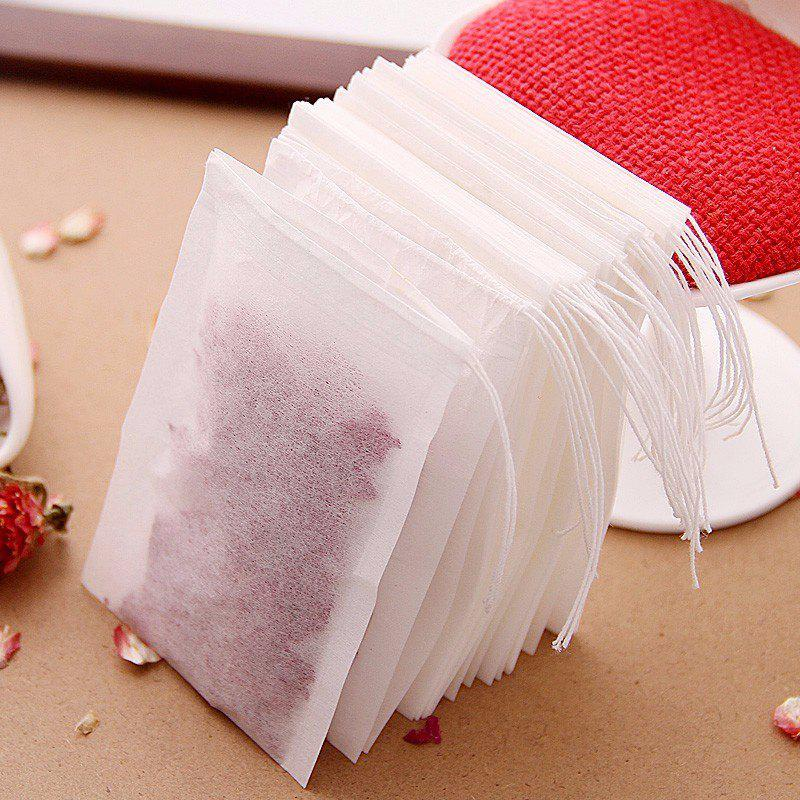 Non Woven Empty Filter Heat Seal Teabags Disposable Herb Strainer Coffee Tools Tea Medicine Seasoning Bags 100PCS 1 sanitary stainless steel ss304 y type filter strainer f beer dairy pharmaceutical beverag chemical industry