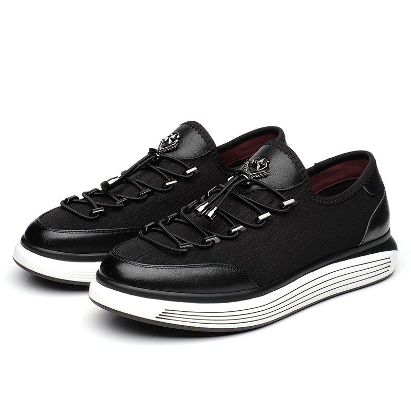 discount prices Men's Fashion Leather Shoes - Black 40 buy cheap purchase top quality sale online v0GS6JjZmG