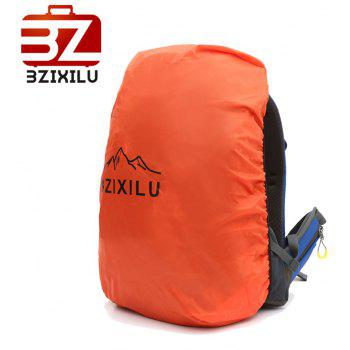 BZIXILU Outdoor Hiking Fashion 50L Waterproof and Mountaineering Bag - BLUE VERTICAL