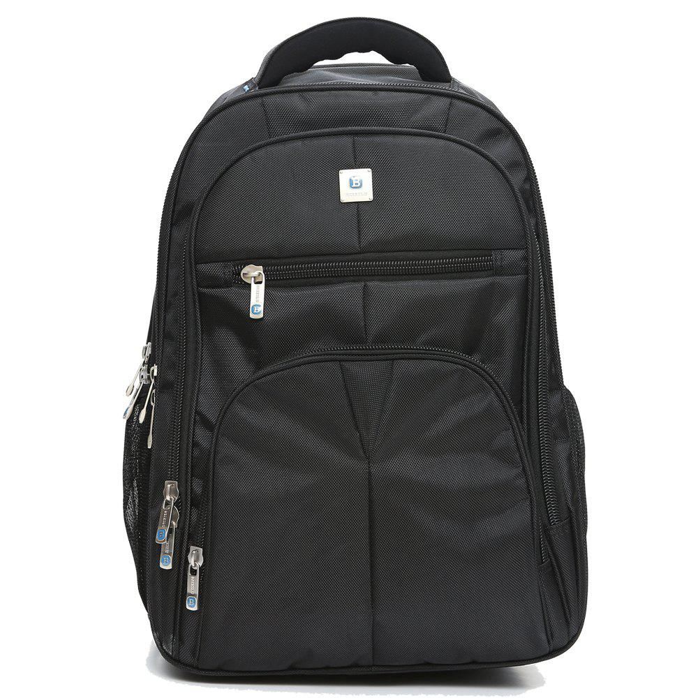BZIXILU Business Casual Simple Large Capacity Computer Bag - BLACK VERTICAL