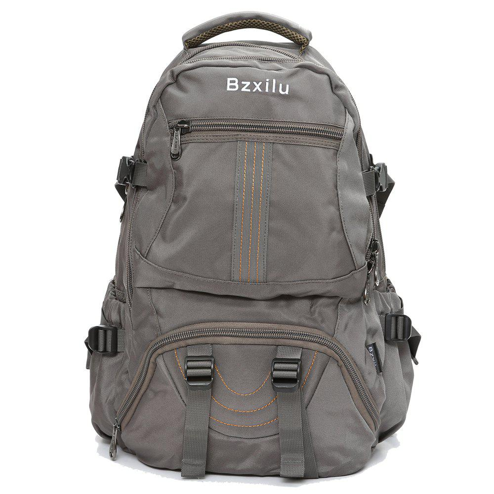 BZIXILU Men'S Business Casual Travel Waterproof Backpack - COFFEE VERTICAL
